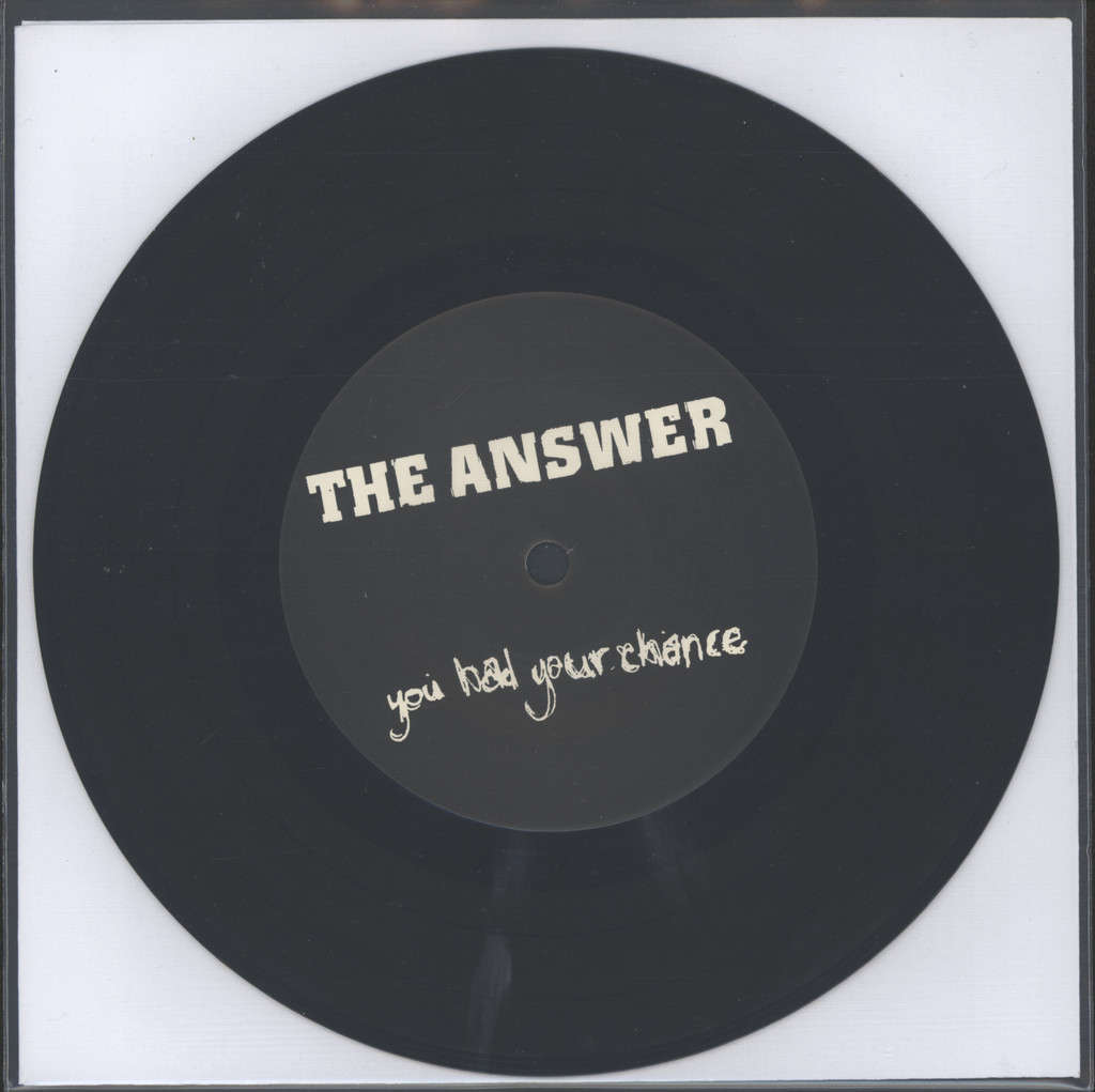 "Answer: You Had Your Chance, 7"" Single (Vinyl)"