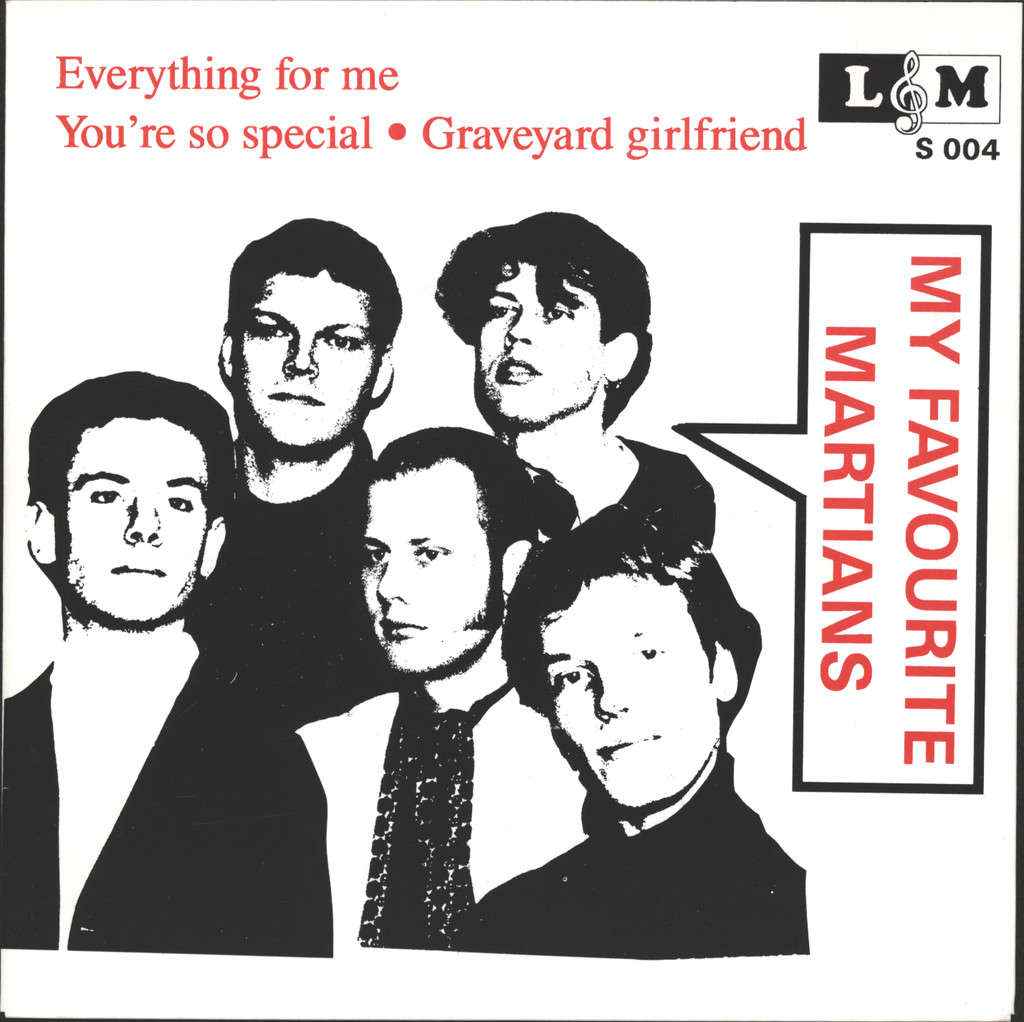 "My Favourite Martians: Everything For Me, 7"" Single (Vinyl)"