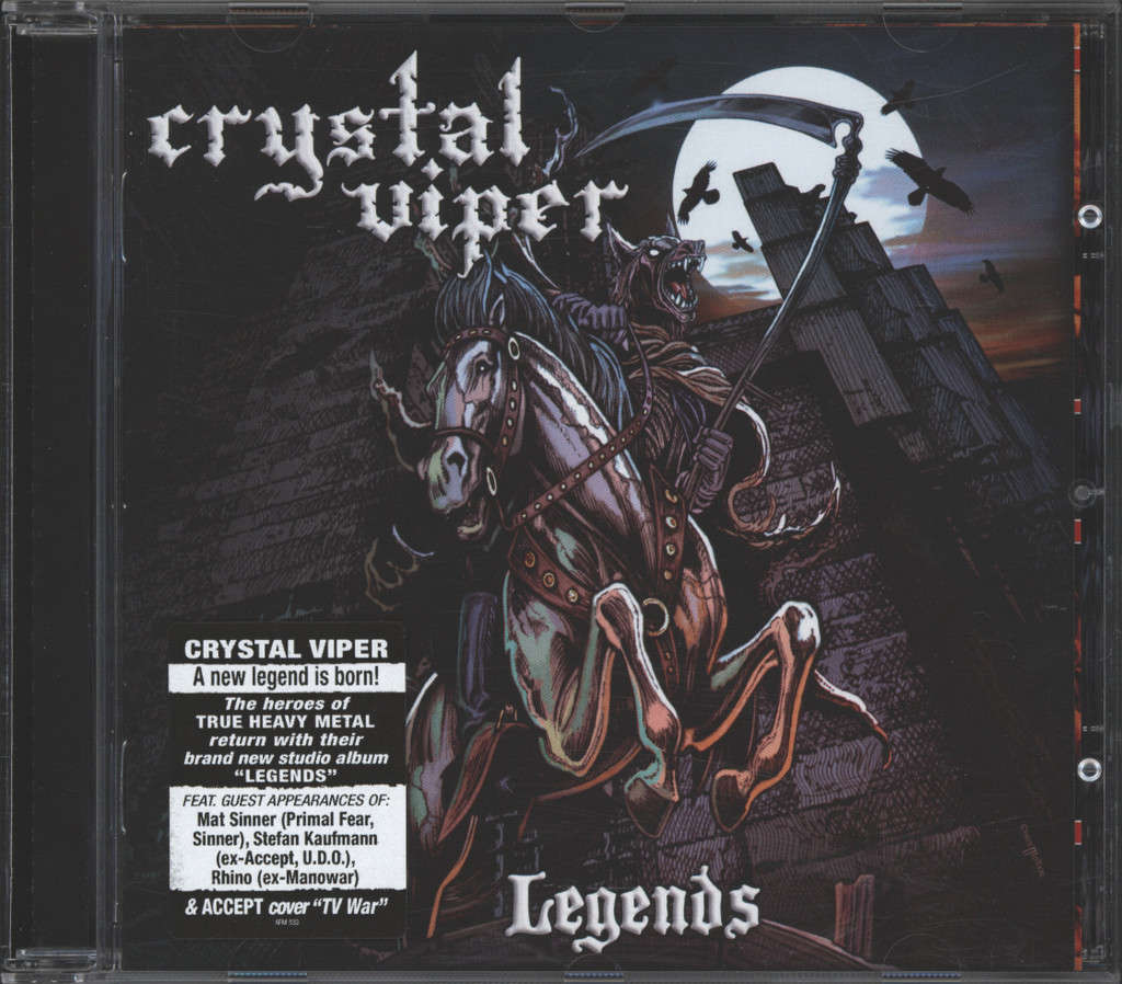 Crystal Viper: Legends, CD