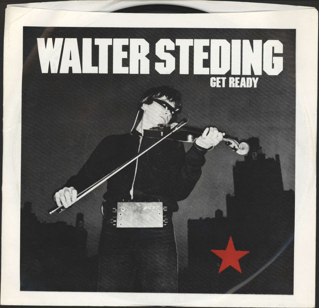 "Walter Steding: Get Ready, 7"" Single (Vinyl)"