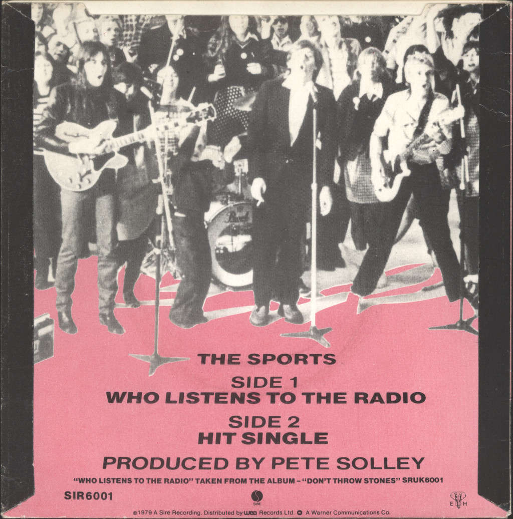 "Sports: Who Listens To The Radio, 7"" Single (Vinyl)"