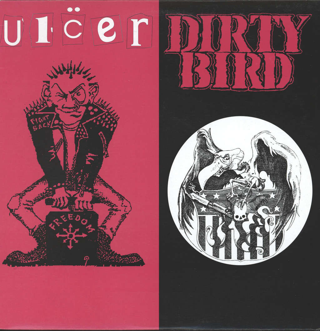 Ulcer: Dirty Bird/Ulcer, LP (Vinyl)