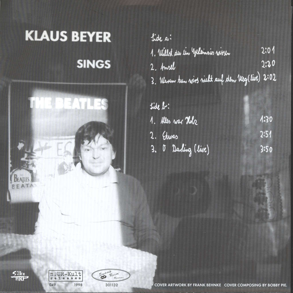 "Beyer, Klaus: Klaus Beyer Sings The Beatles, 7"" Single (Vinyl)"
