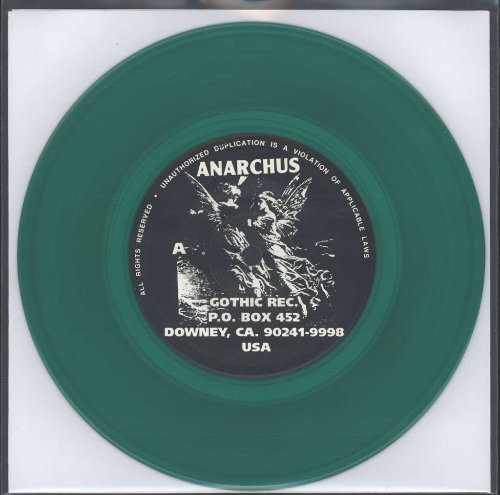 "Anarchus: 500 Years Of Infamy, 7"" Single (Vinyl)"