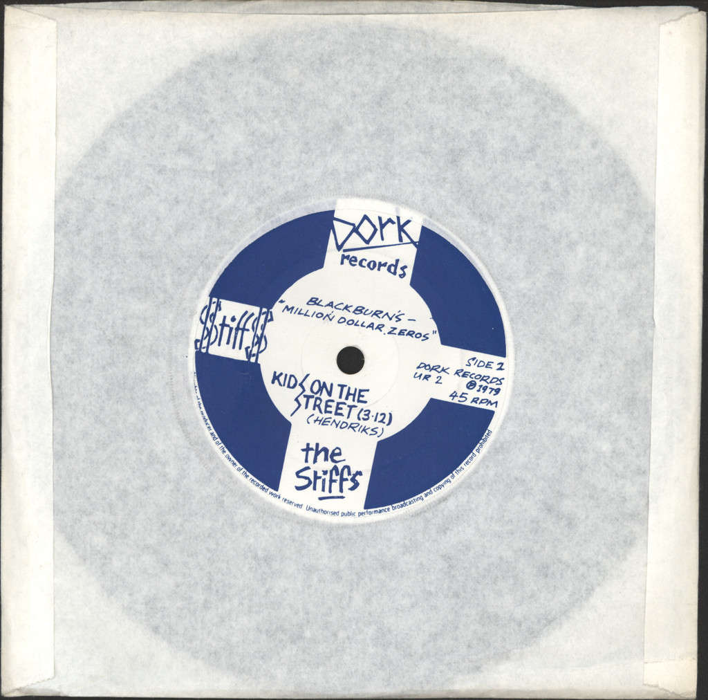 "Stiffs: Inside Out / Kids On The Street, 7"" Single (Vinyl)"