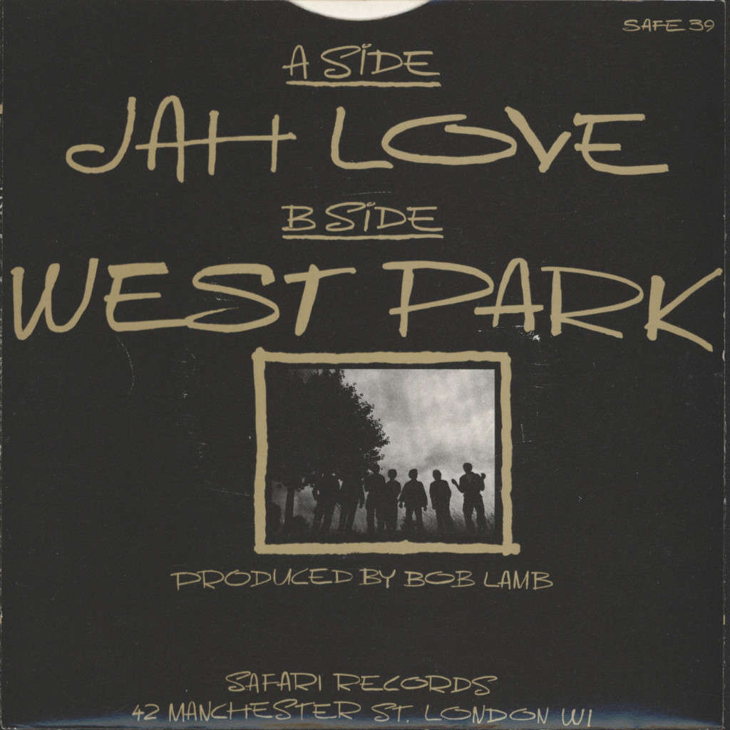 "Weapon Of Peace: Jah Love / West Park, 7"" Single (Vinyl)"