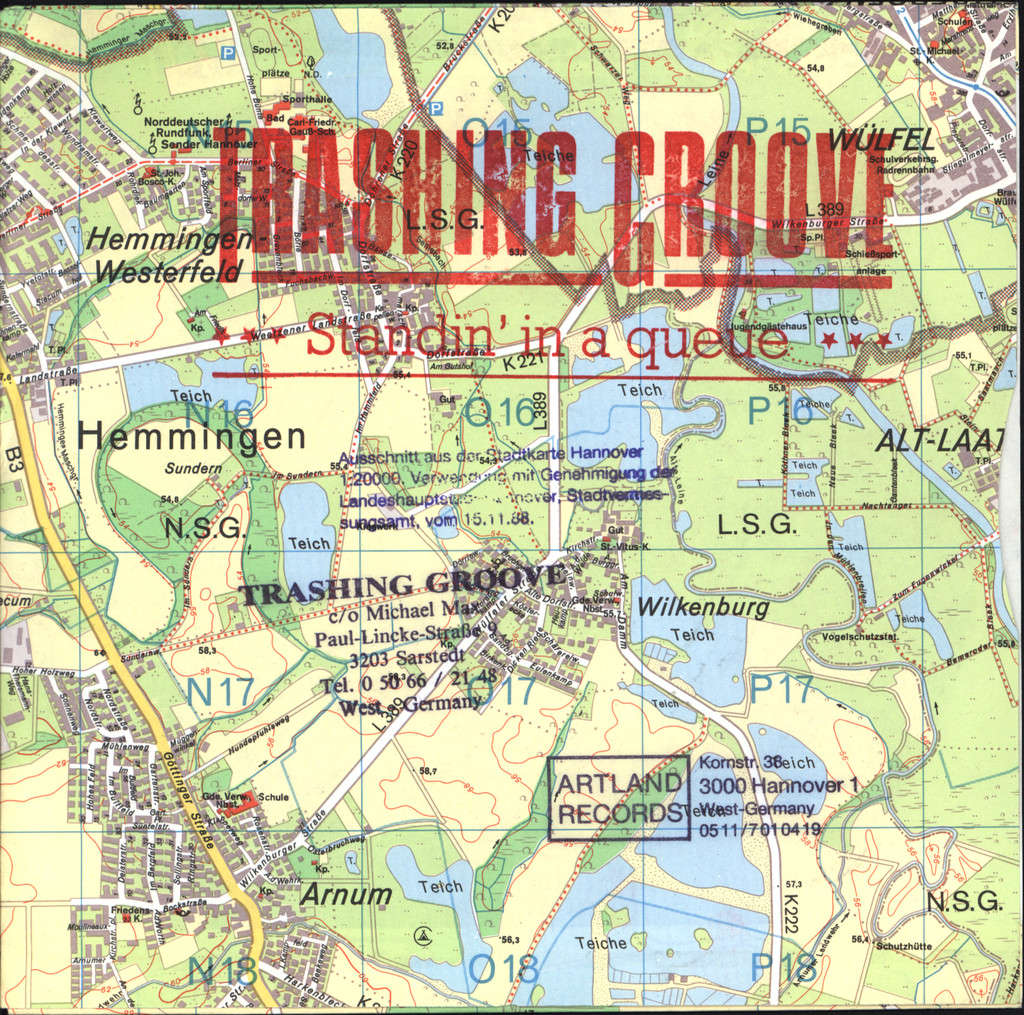 "Trashing Groove: Standin' In A Queue, 7"" Single (Vinyl)"