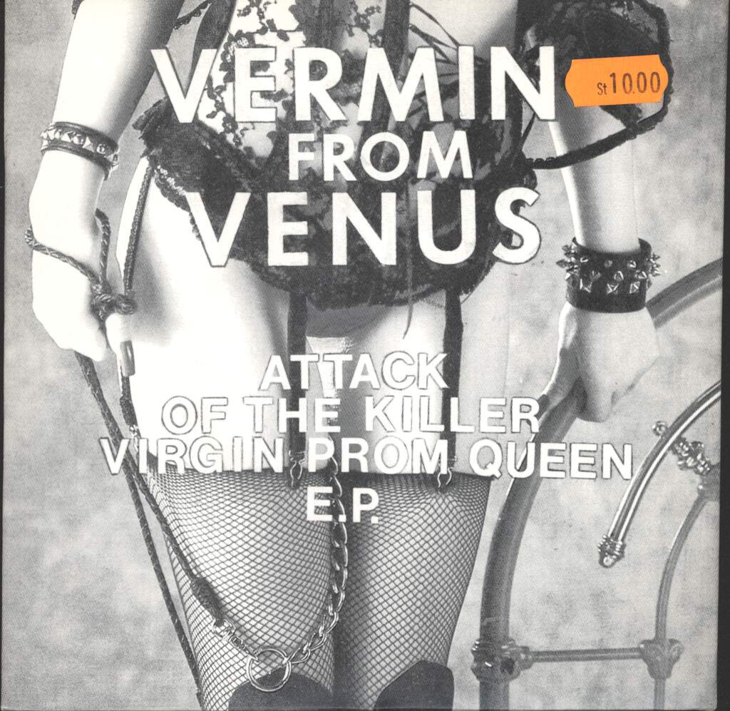 "Vermin From Venus: Attack Of The Killer Virgin Prom Queen E.P., 7"" Single (Vinyl)"