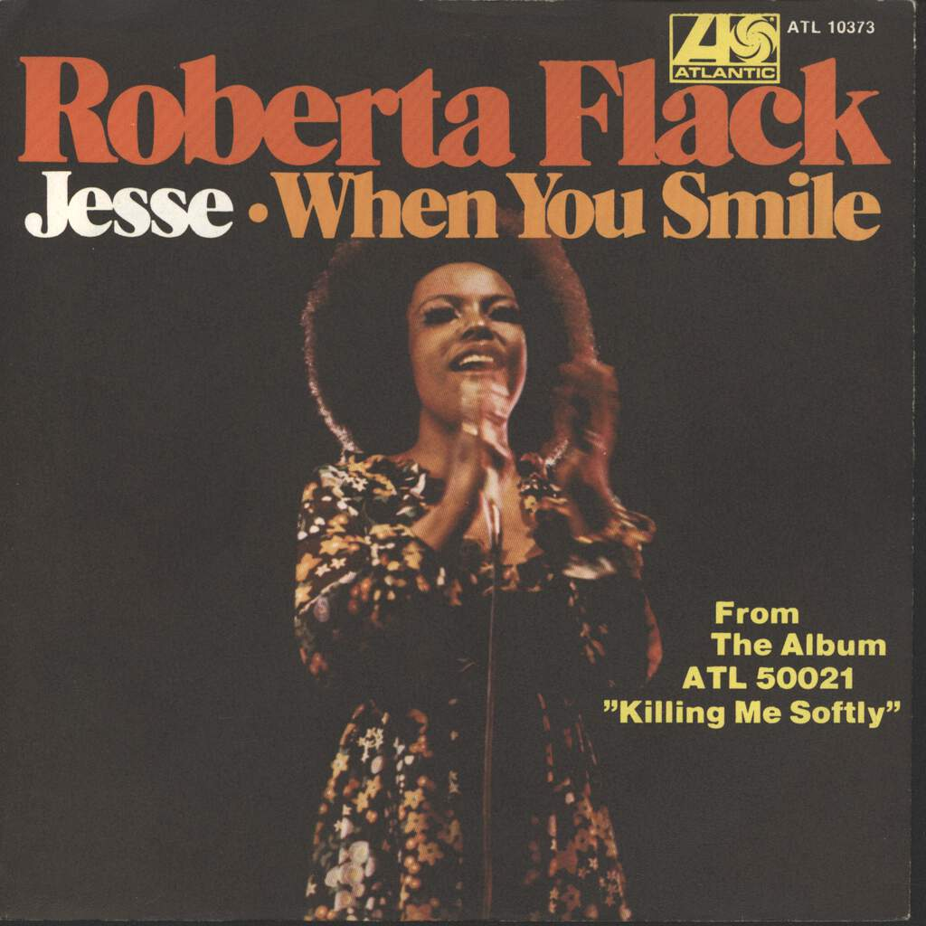 "Flack, Roberta: Jesse / When You Smile, 7"" Single (Vinyl)"