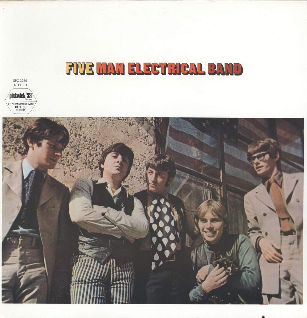 Five Man Electrical Band: Five Man Electrical Band, LP (Vinyl)