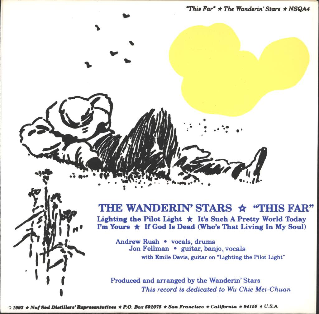 "Wanderin' Stars: This Far, 7"" Single (Vinyl)"