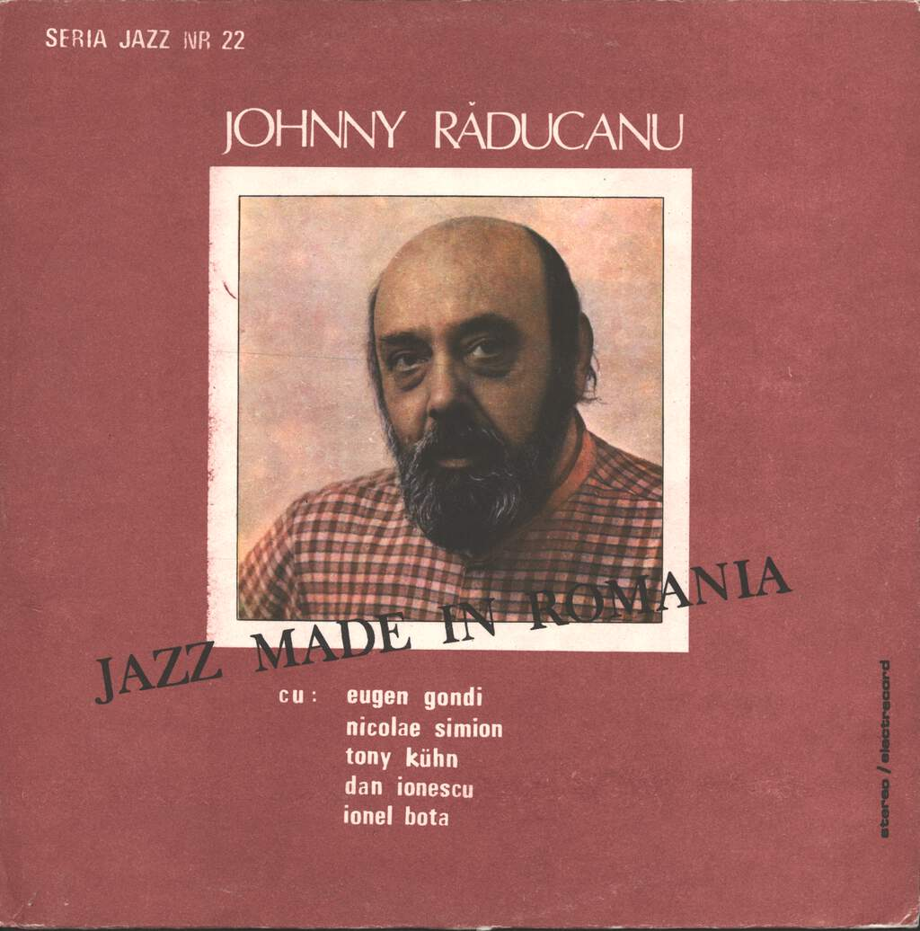 Johnny Răducanu: Jazz Made In Romania, LP (Vinyl)