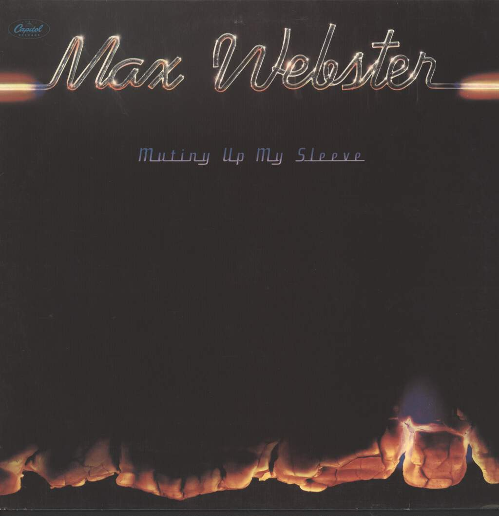 Webster, Max: Mutiny Up My Sleeve, LP (Vinyl)