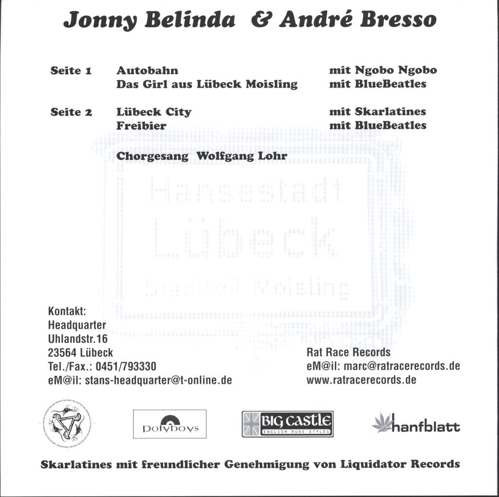 "Johnny Belinda: Liebesgrüsse aus Moisling, 7"" Single (Vinyl)"