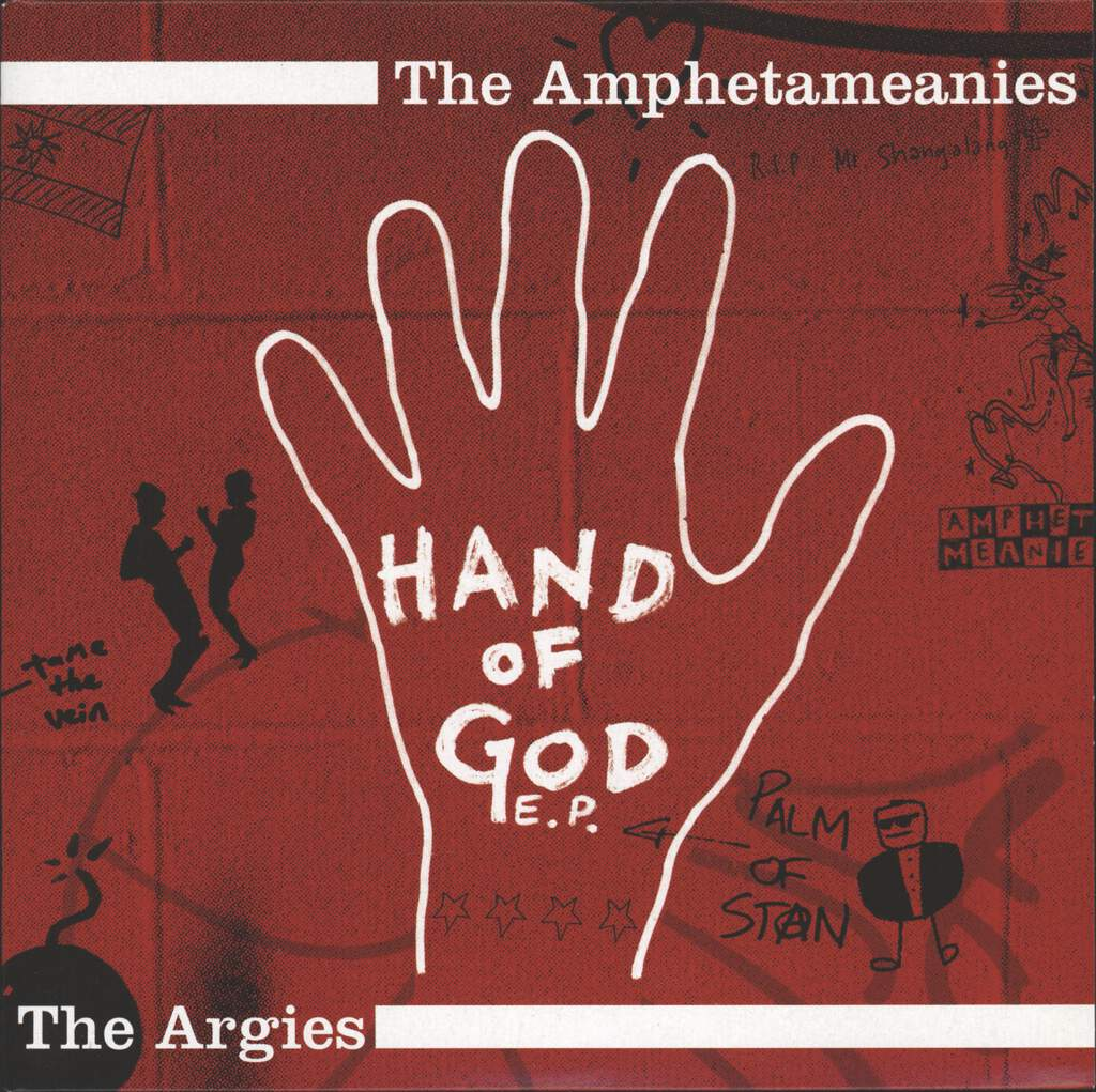 "Amphetameanies: Hand Of God E. P., 7"" Single (Vinyl)"