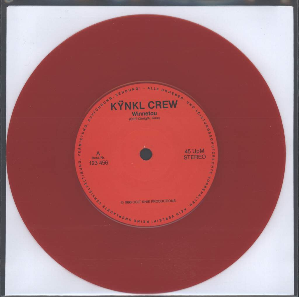 "Kÿnkl Crew: Winnetou, 7"" Single (Vinyl)"