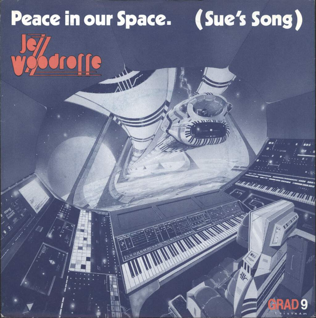 "Jezz Woodroffe: Peace In Our Space (Sue's Song) / The Marathon Runner, 7"" Single (Vinyl)"