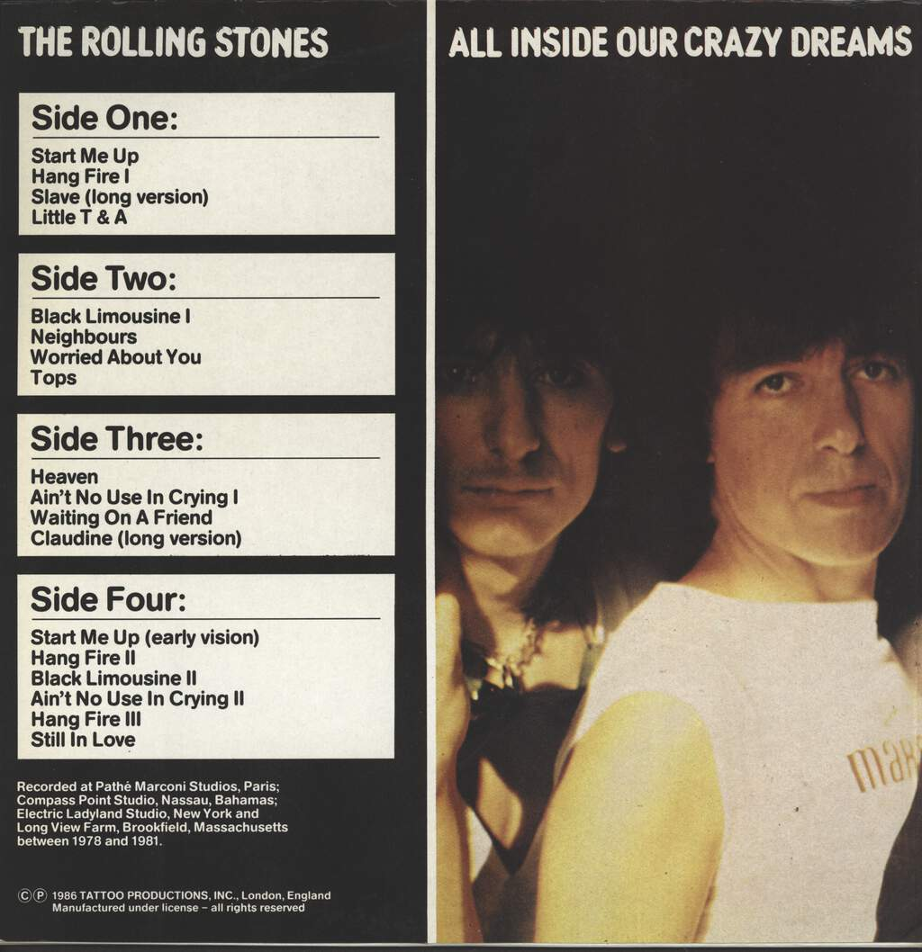 Rolling Stones: All Inside Our Crazy Dreams, LP (Vinyl)
