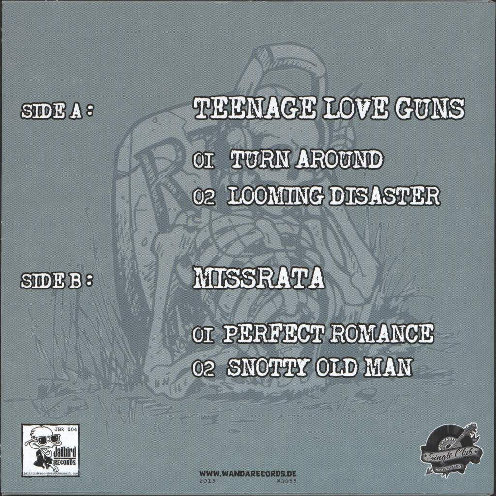 "Teenage Love Guns: Split, 7"" Single (Vinyl)"