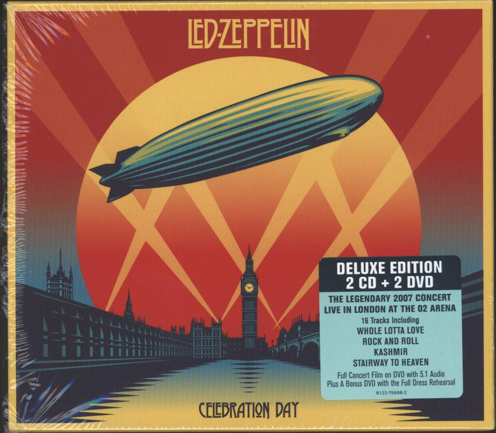 Led Zeppelin: Celebration Day, 2×CD