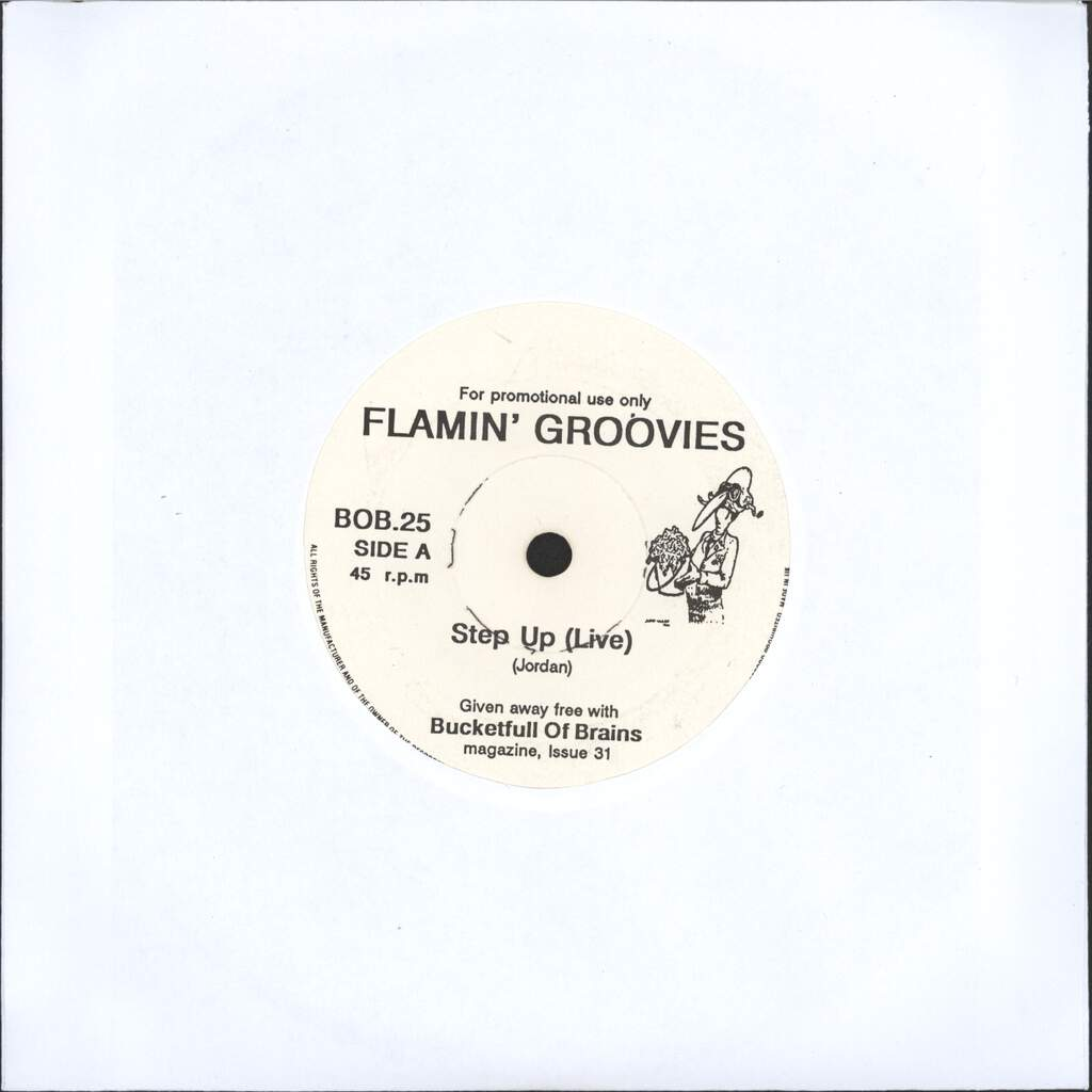 "Flamin Groovies: Step Up (Live) / Noose Around My Neck, 7"" Single (Vinyl)"
