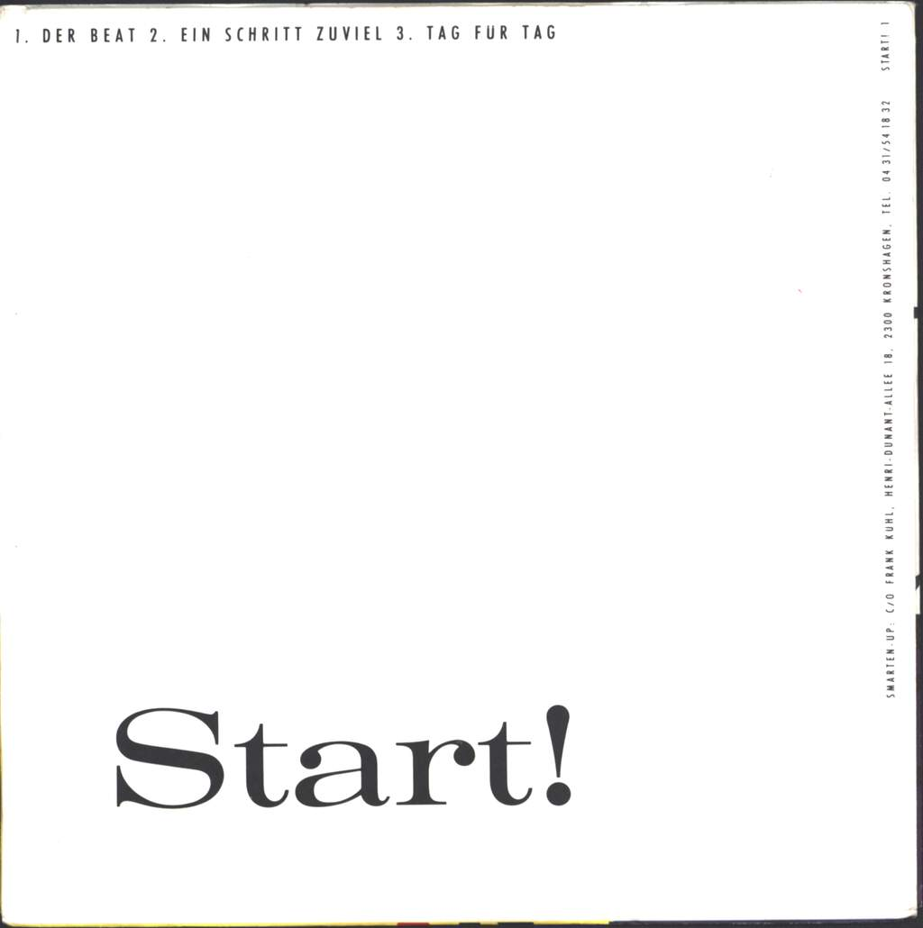 "Start!: Der Beat, 7"" Single (Vinyl)"