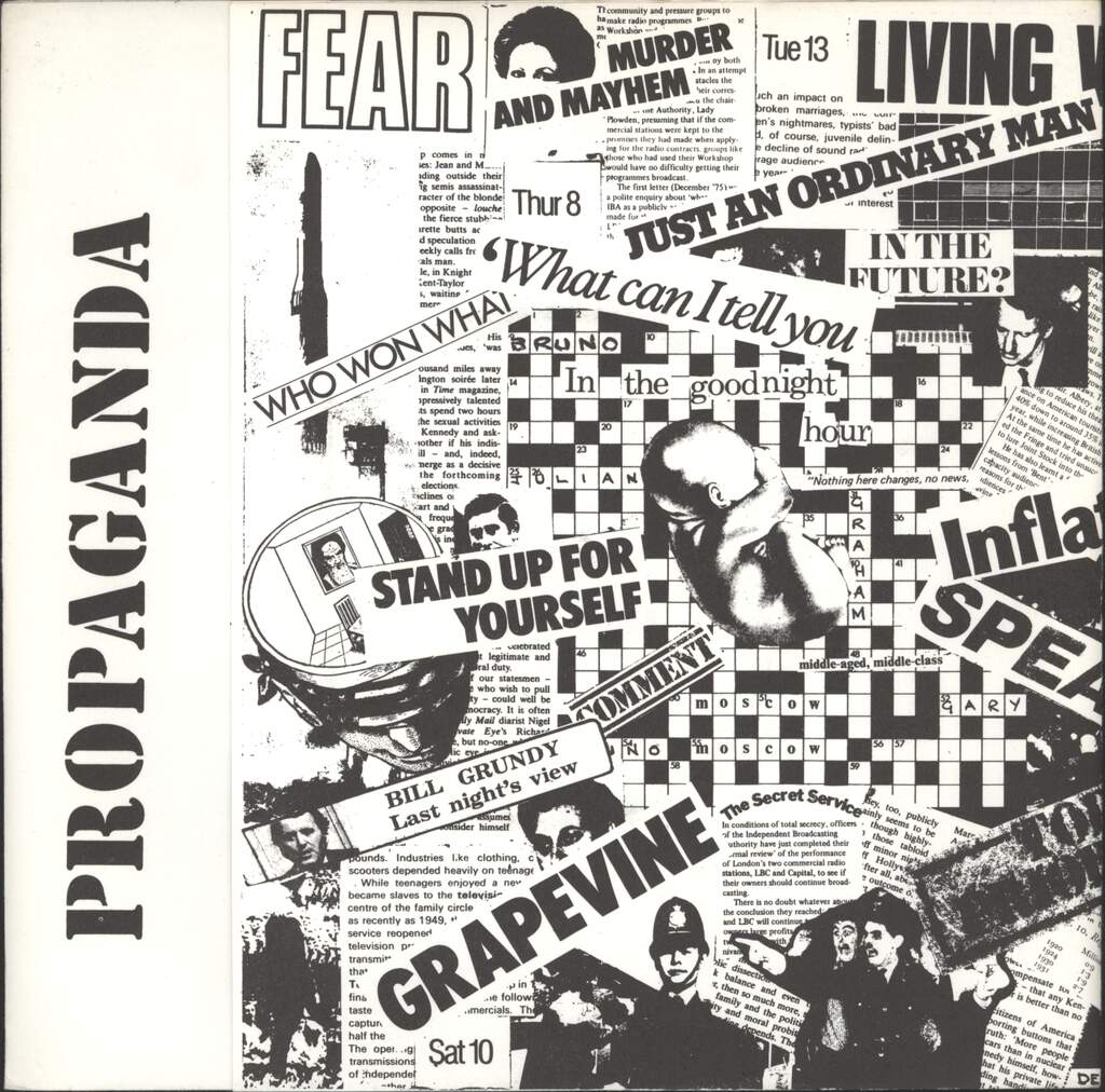 "Propaganda: In The Goodnight Hour, 7"" Single (Vinyl)"