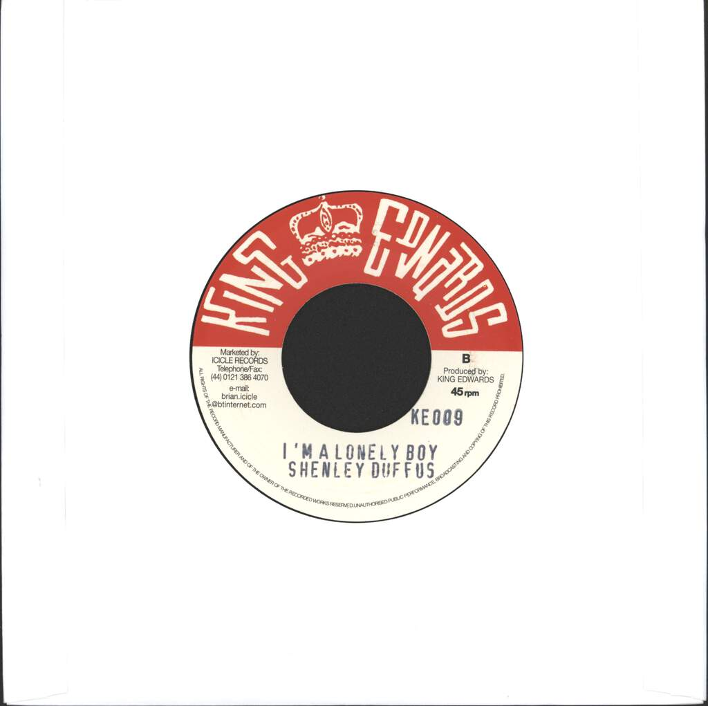 "Skatalites: What A Scandal / I'm A Lonely Boy, 7"" Single (Vinyl)"