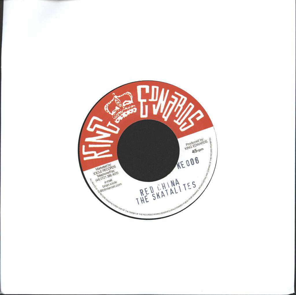 "Skatalites: Red China / Suddenly, 7"" Single (Vinyl)"