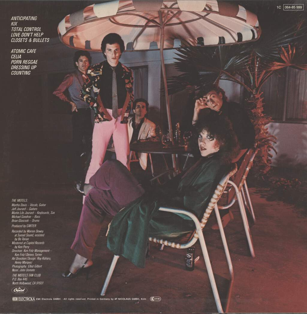 Motels: The Motels, LP (Vinyl)