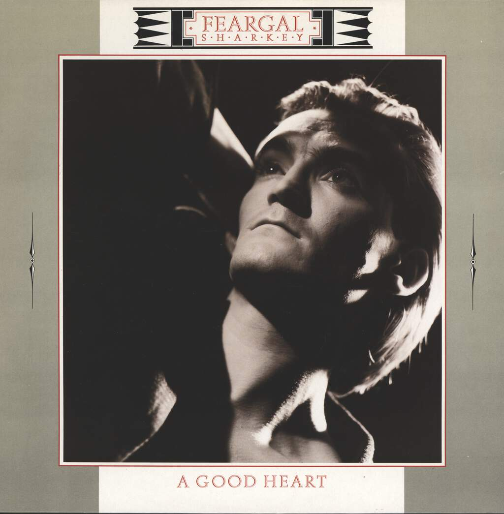 "Feargal Sharkey: A Good Heart, 12"" Maxi Single (Vinyl)"