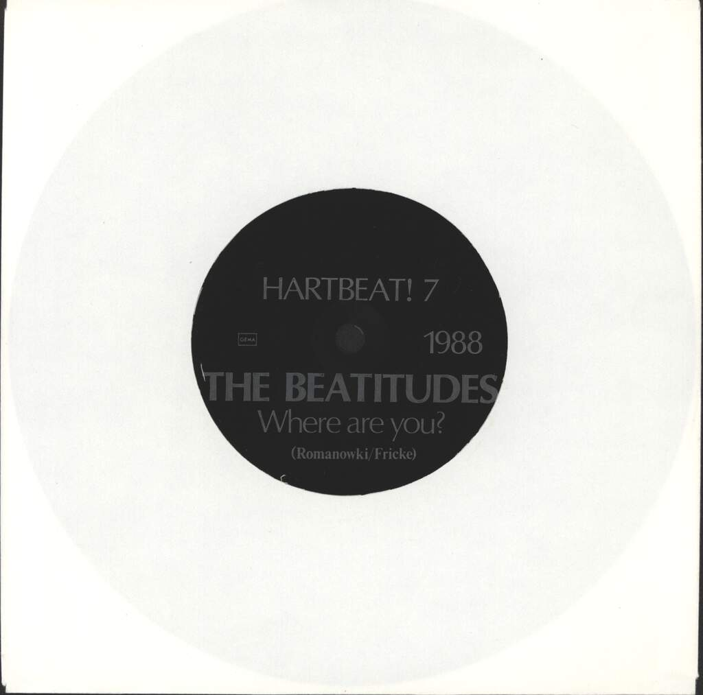 Beatitudes: Where Are You?, Flexi Disc