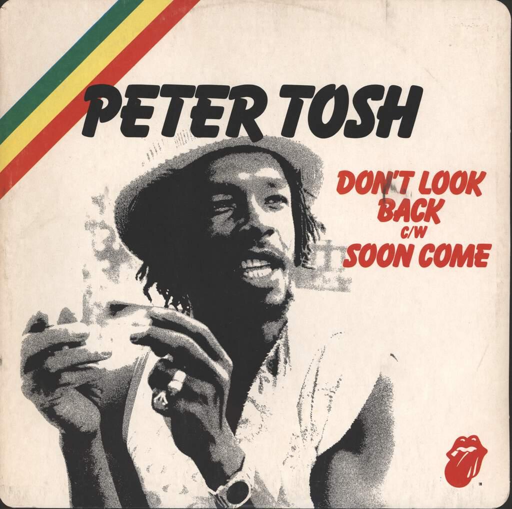 "Peter Tosh: Don't Look Back / Soon Come, 12"" Maxi Single (Vinyl)"