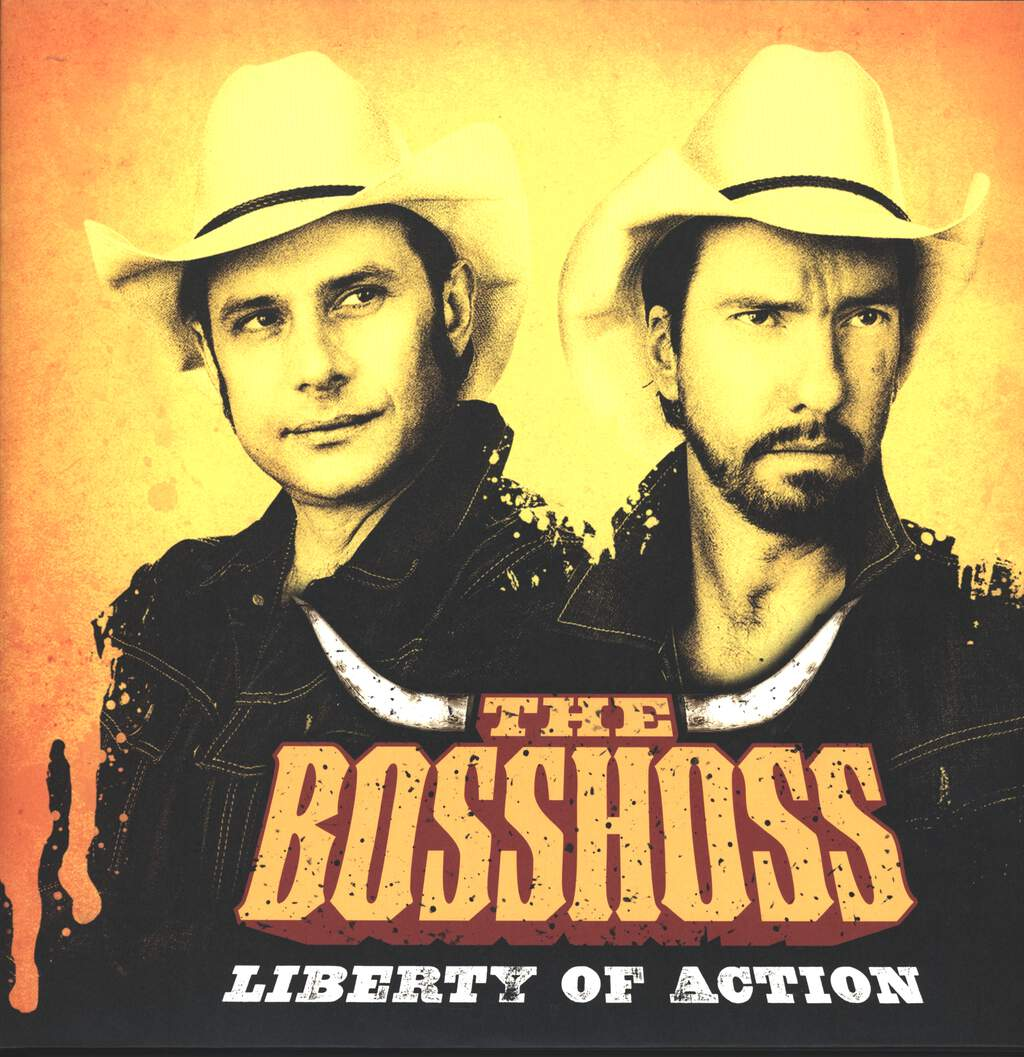 Bosshoss: Liberty Of Action, 2×LP (Vinyl)