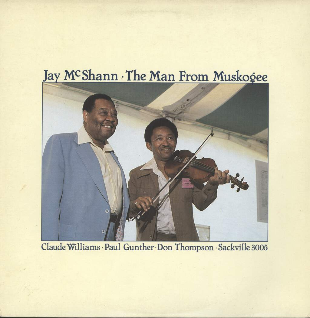 Jay McShann: The Man From Muskogee, LP (Vinyl)