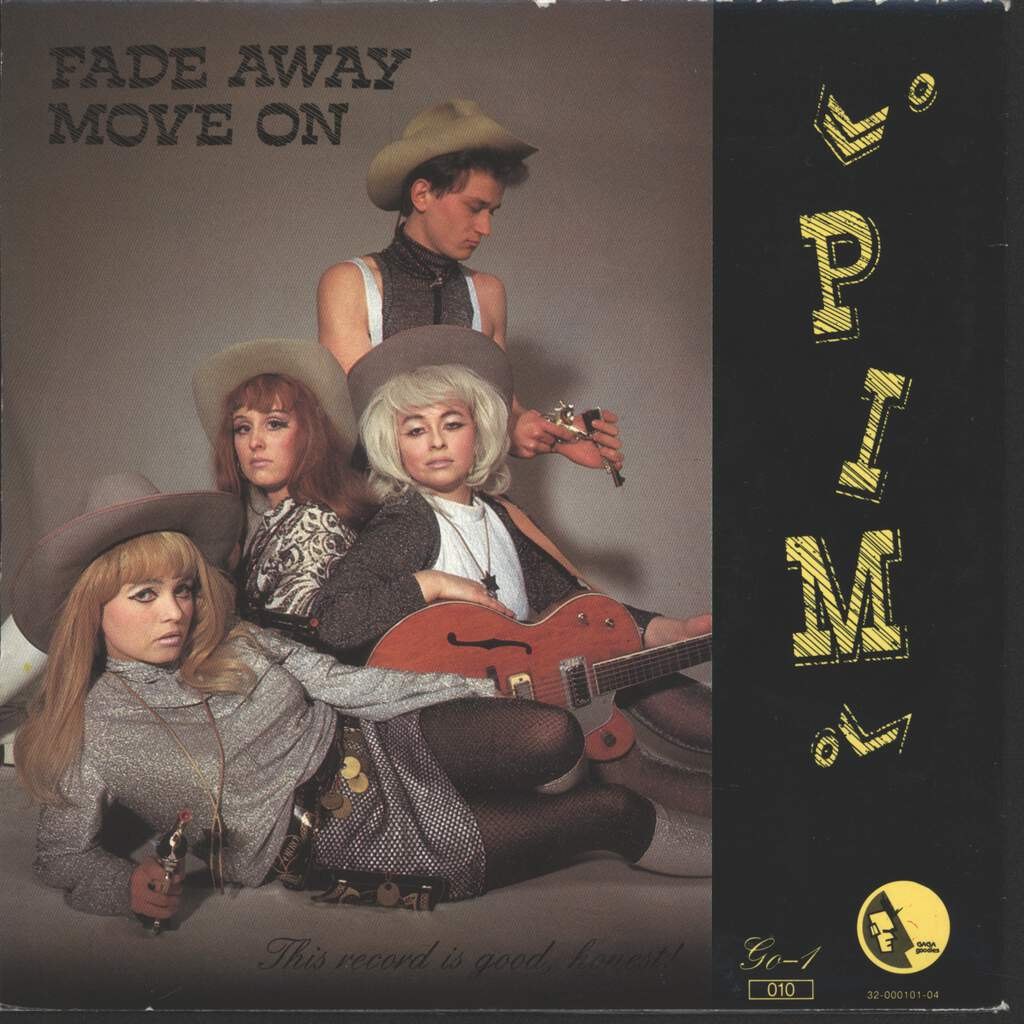 "Pim: Fade Away / Move On, 7"" Single (Vinyl)"
