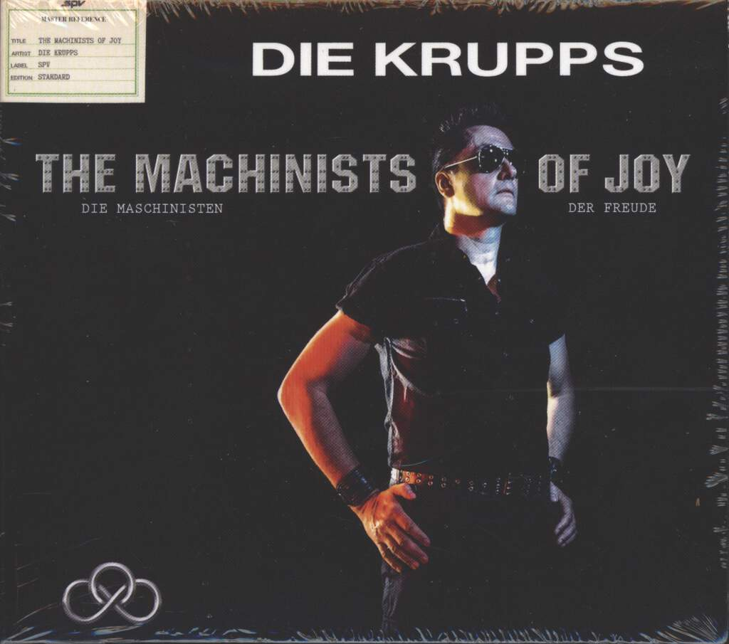 Die Krupps: The Machinists Of Joy, CD