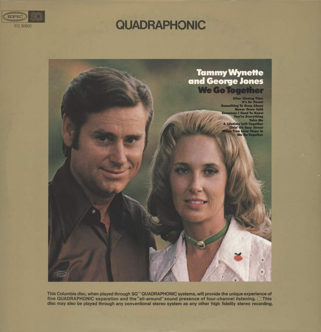 George Jones & Tammy Wynette: We Go Together, LP (Vinyl)