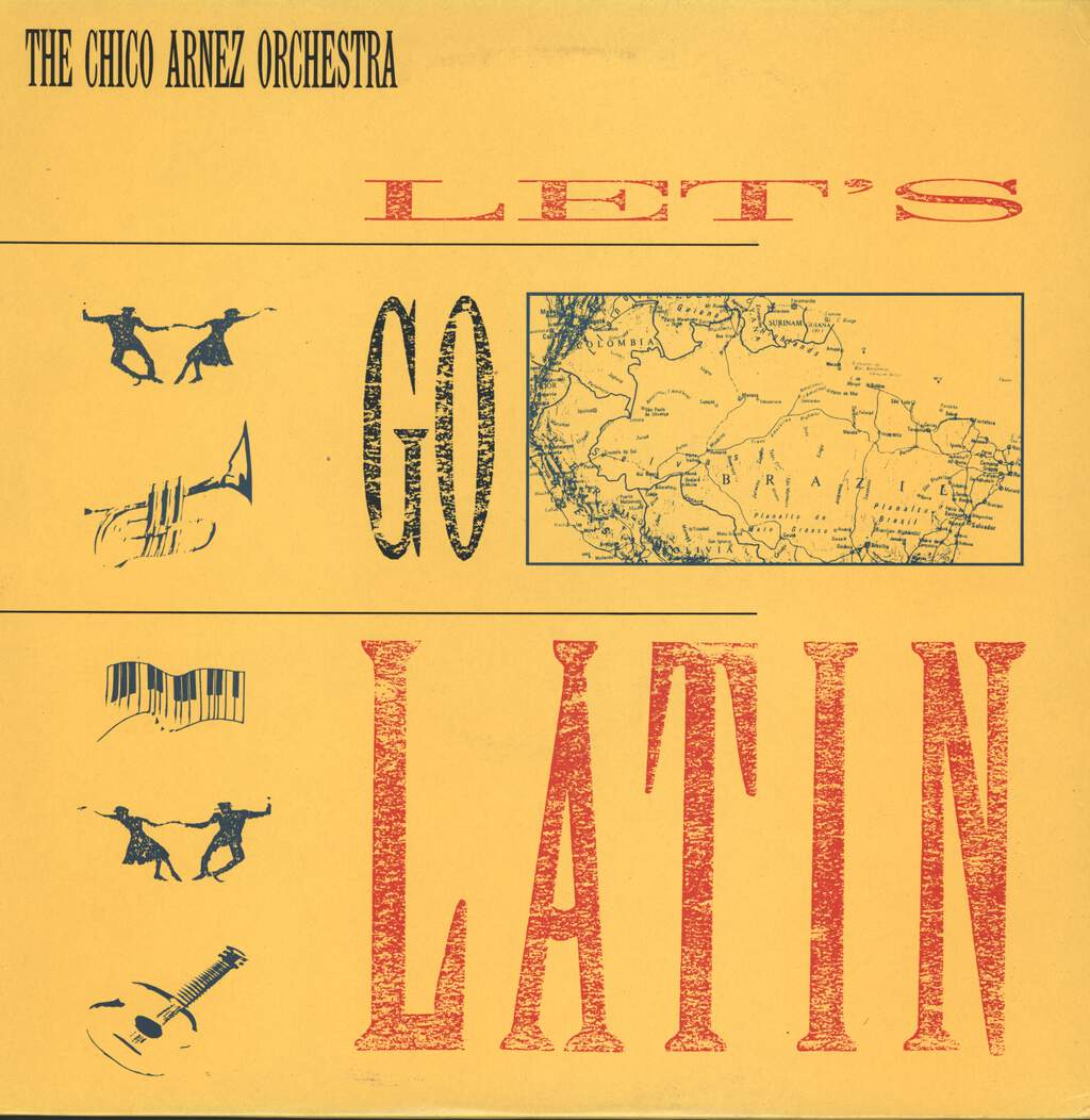 Chico Arnez And His Orchestra: Let's Go Latin, LP (Vinyl)