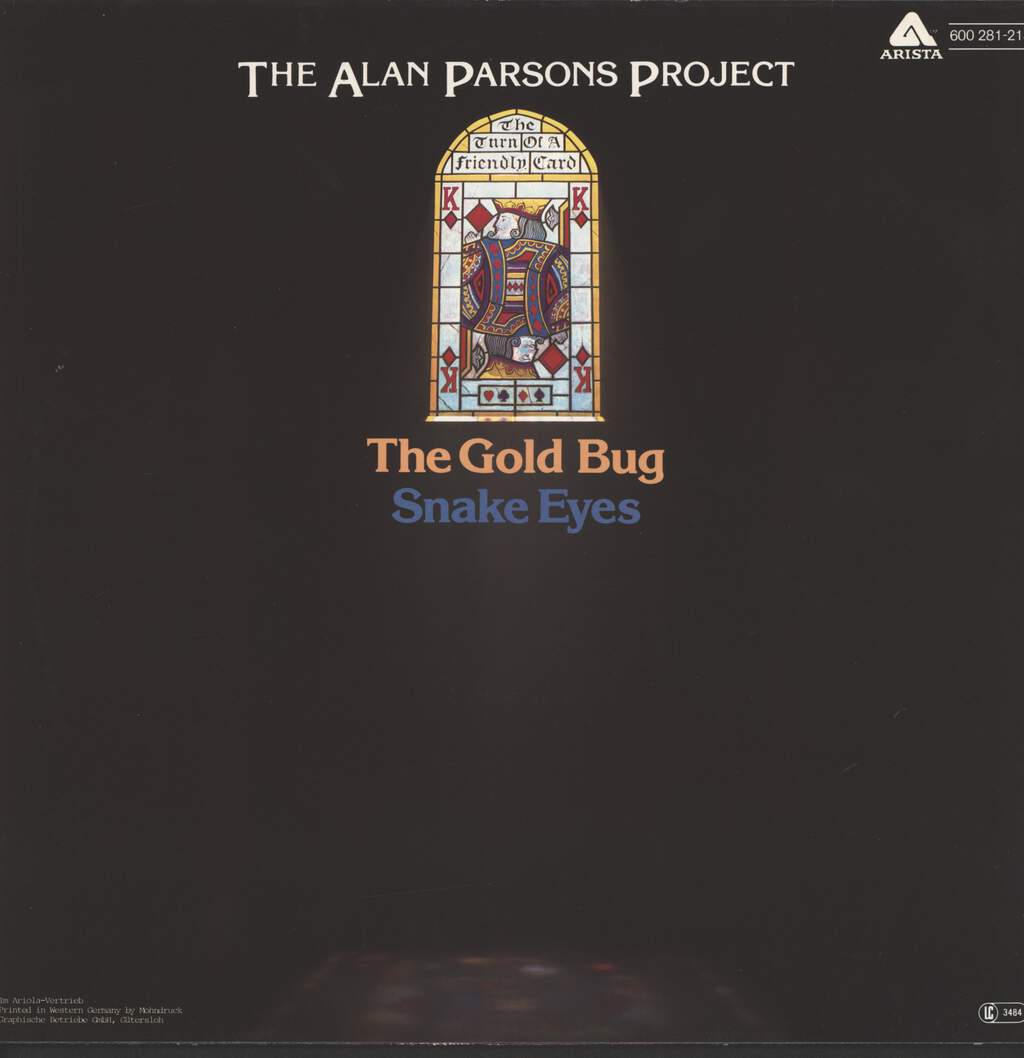 "Alan Parsons Project: The Gold Bug / Snake Eyes, 12"" Maxi Single (Vinyl)"
