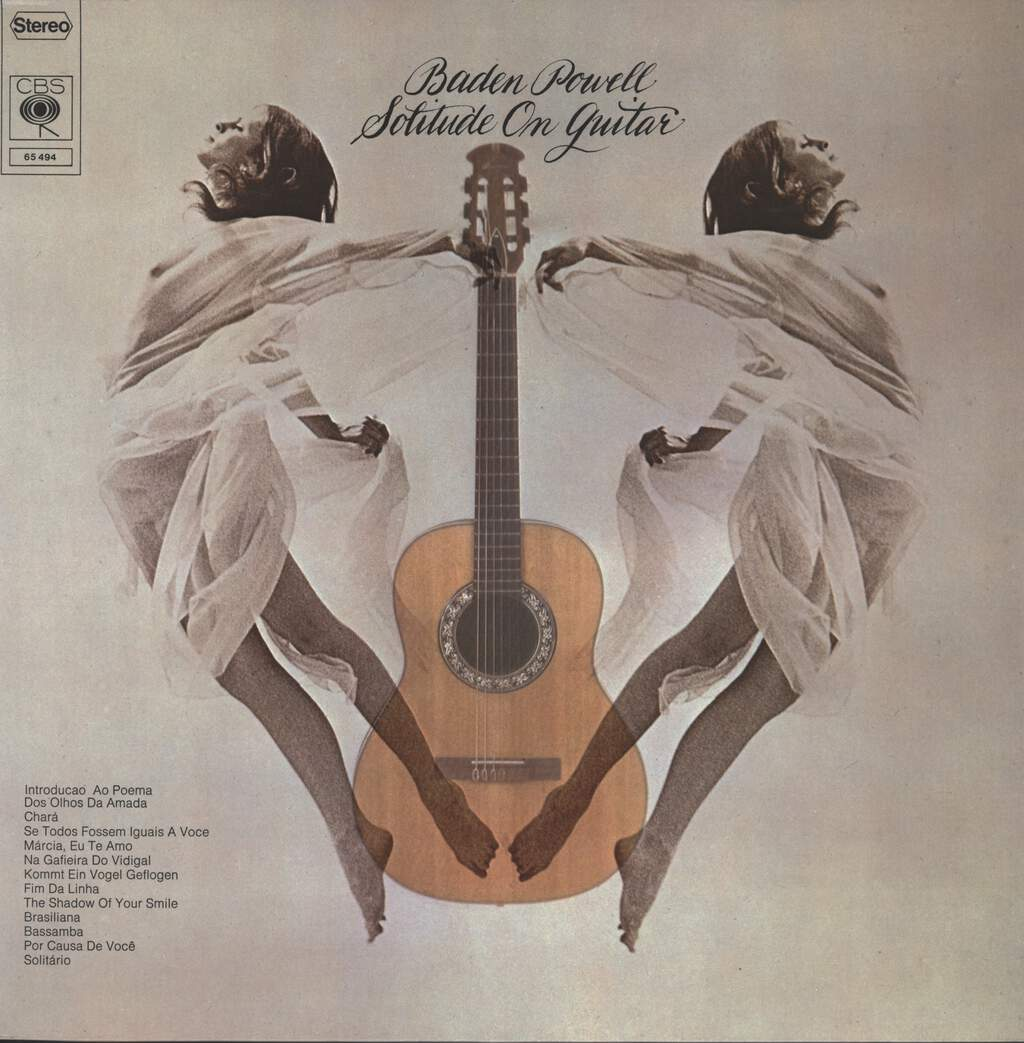 Baden Powell: Solitude On Guitar, LP (Vinyl)