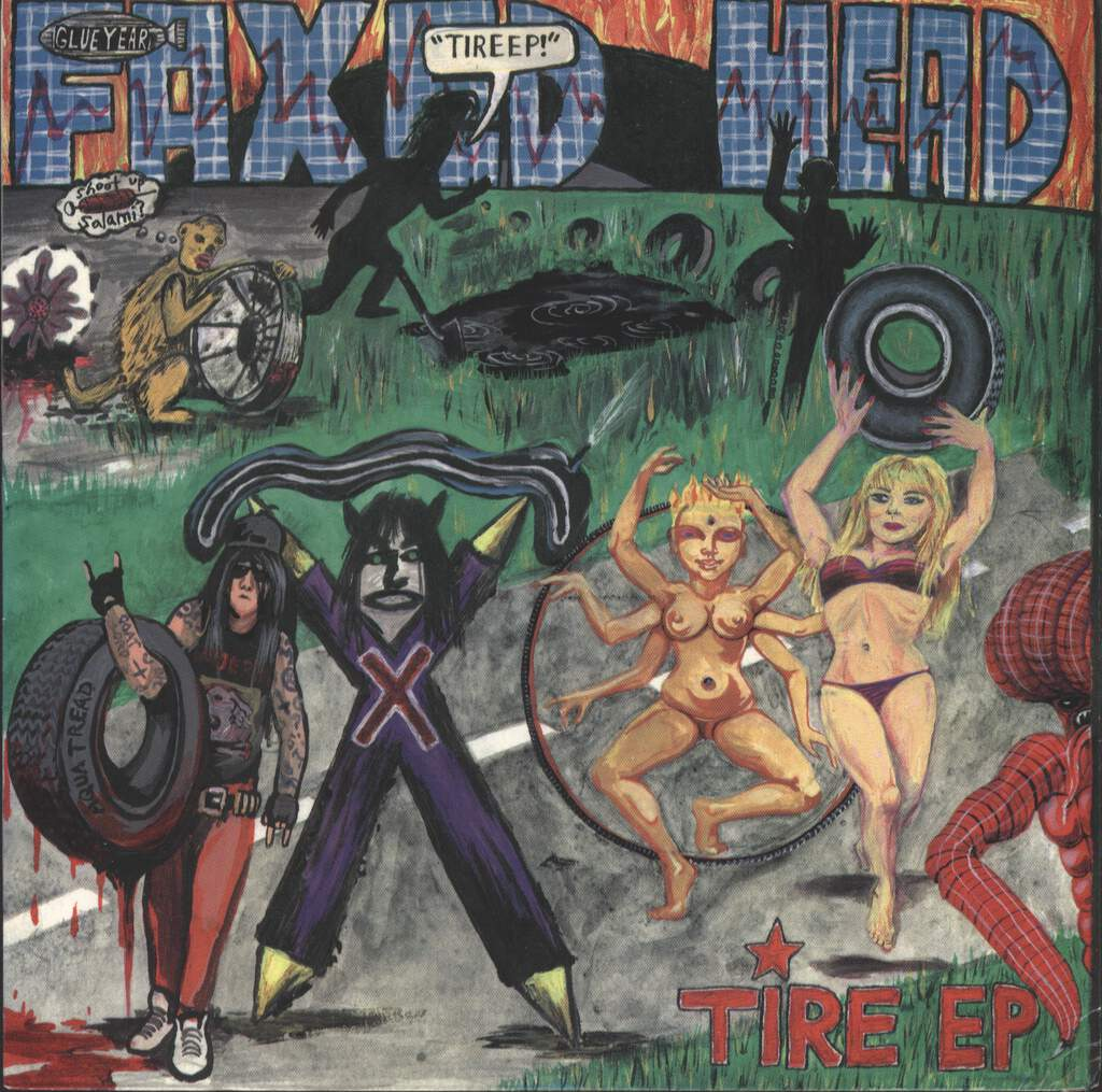 "Faxed Head: Tire EP, 7"" Single (Vinyl)"