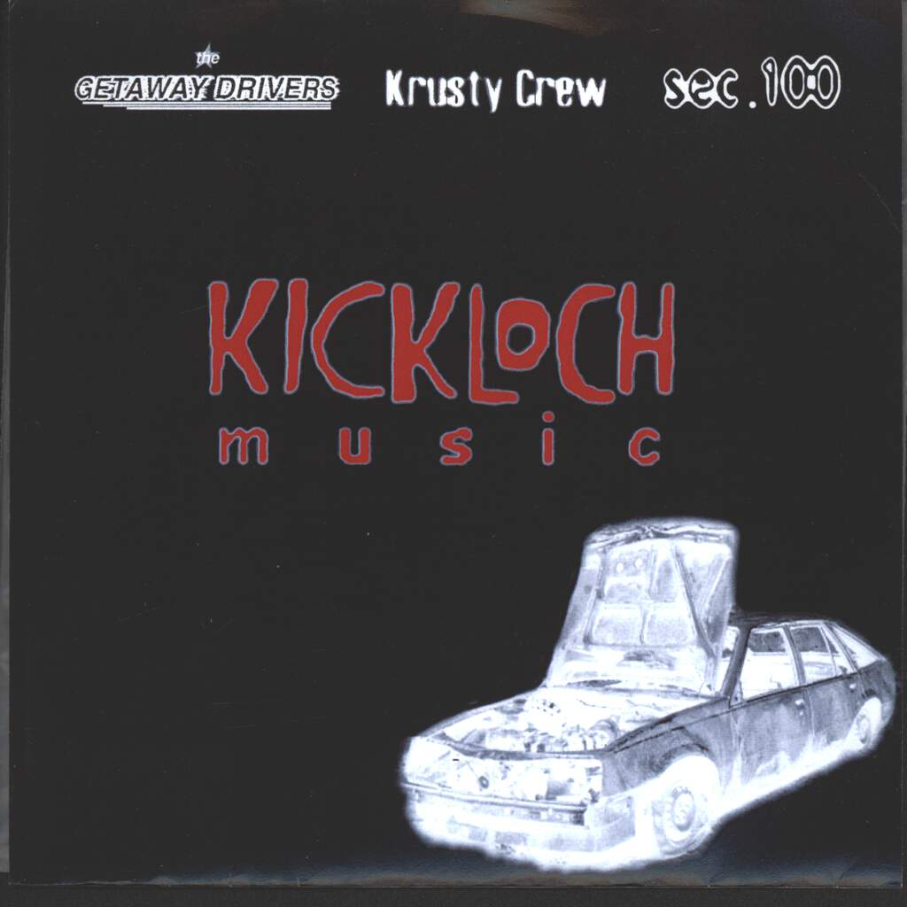 "Krusty Crew: Kickloch Music, 7"" Single (Vinyl)"