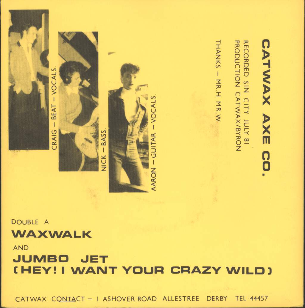 "Cat Wax Axe Co.: Waxwalk, 7"" Single (Vinyl)"