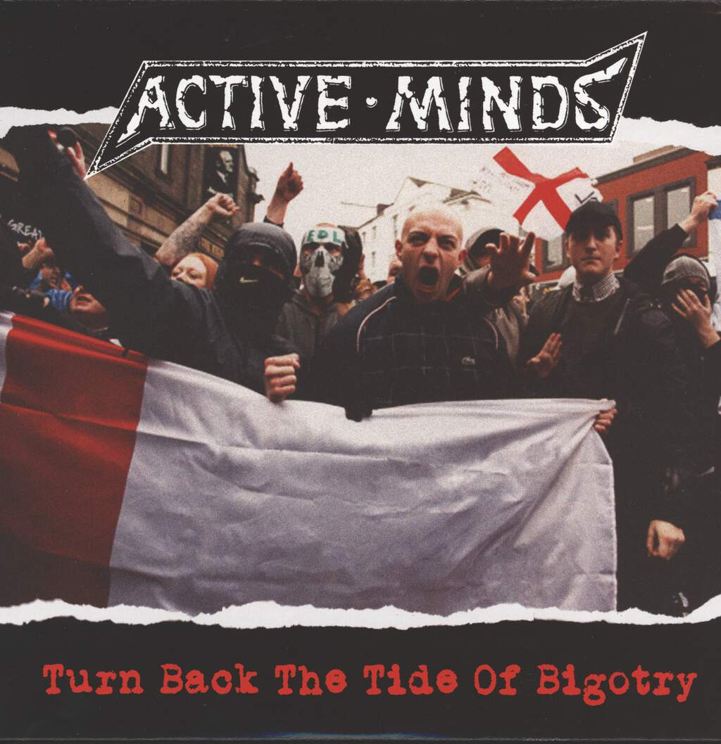 Active Minds: Turn Back The Tide Of Bigotry, LP (Vinyl)
