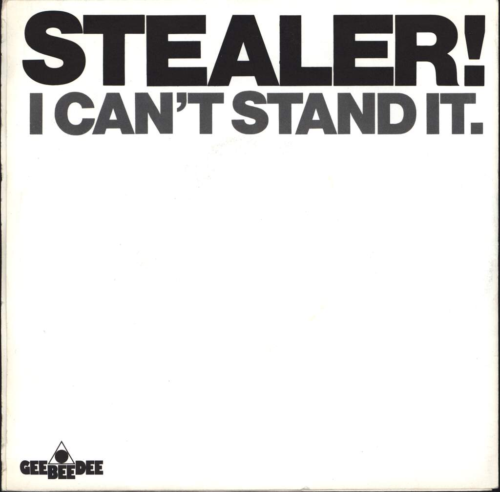 "Stealer: Girls, 7"" Single (Vinyl)"