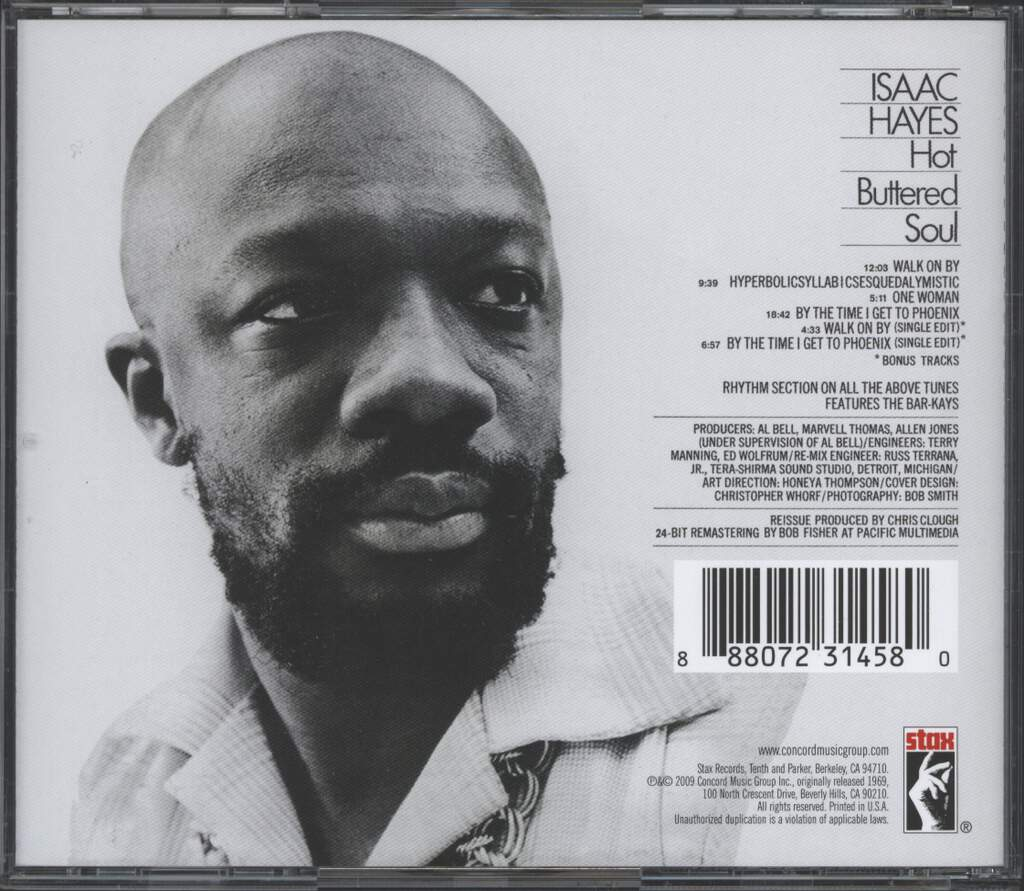 Isaac Hayes: Hot Buttered Soul, CD
