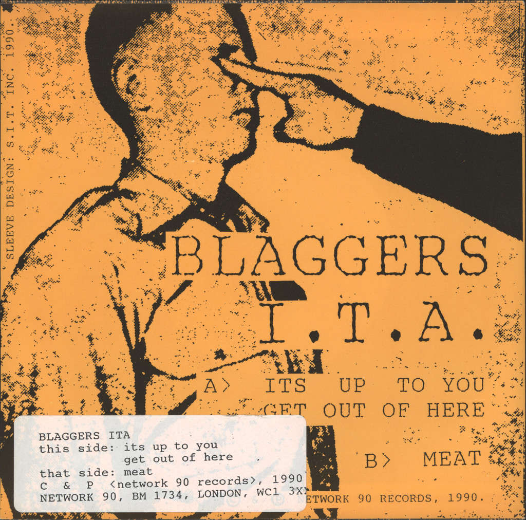 "Blaggers ITA: It's Up To You, 7"" Single (Vinyl)"