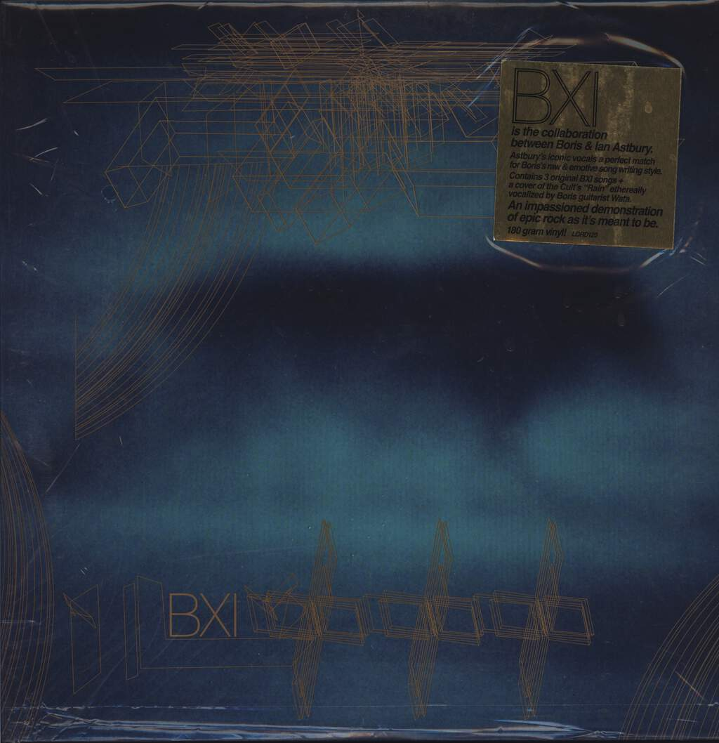 "BXI: Boris & Ian Astbury, 12"" Maxi Single (Vinyl)"