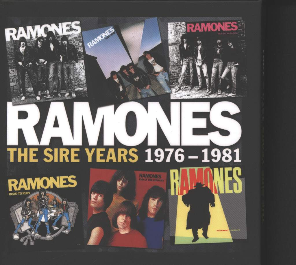 Ramones: The Sire Years 1976-1981, CD